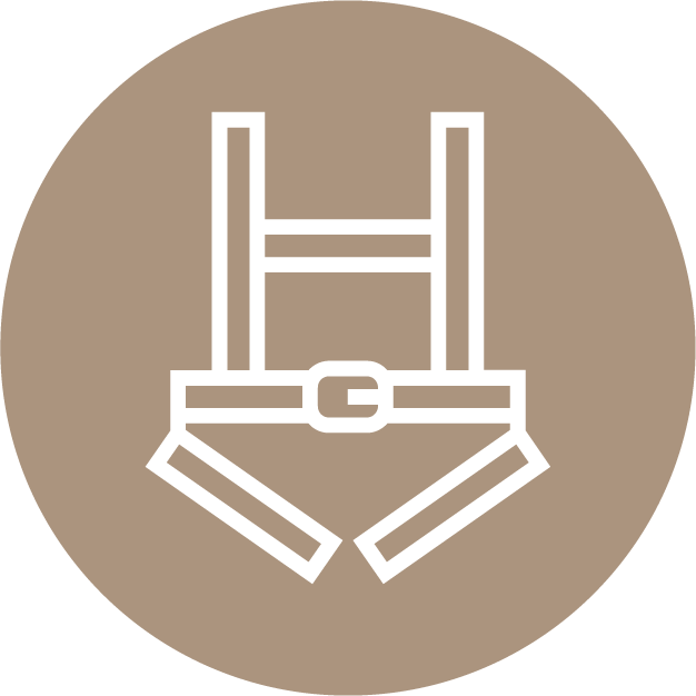 Icon Safety Harness 01 Mills Manufacturing